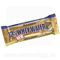 32% Whey Wafer bar, diverse arome, 35g, Weider