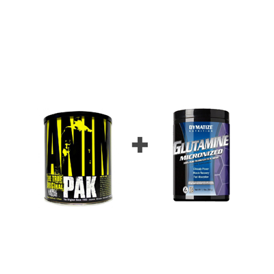 Animal Pak+Glutamine