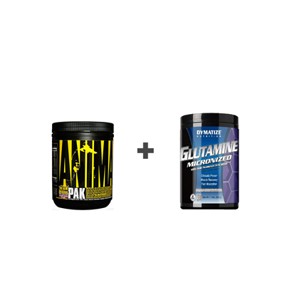 Animal Pak powder+Glutamine