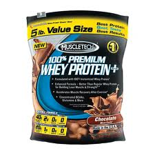 MUSCLETECH 100% PREMIUM WHEY PROTEIN, 2.27 kg, diverse arome