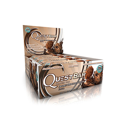 QUEST BAR Double Chocolate Chunk 12 buc