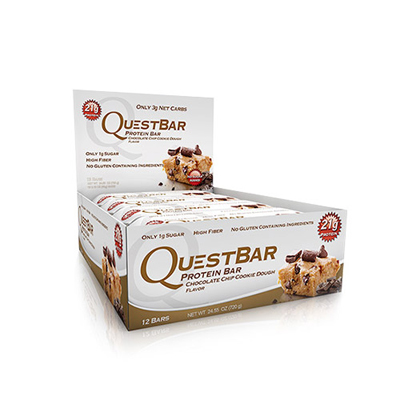 QUEST BAR Chocolate Chip Cookies Dough 12 buc