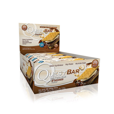 QUEST BAR S mores 12 buc