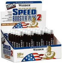 Speed Booster Plus II, 20 fiole - Weider